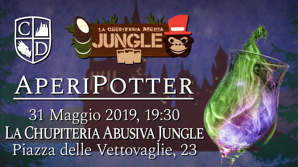 AperiPotter alla Chupiteria Abusiva Jungle di Pisa