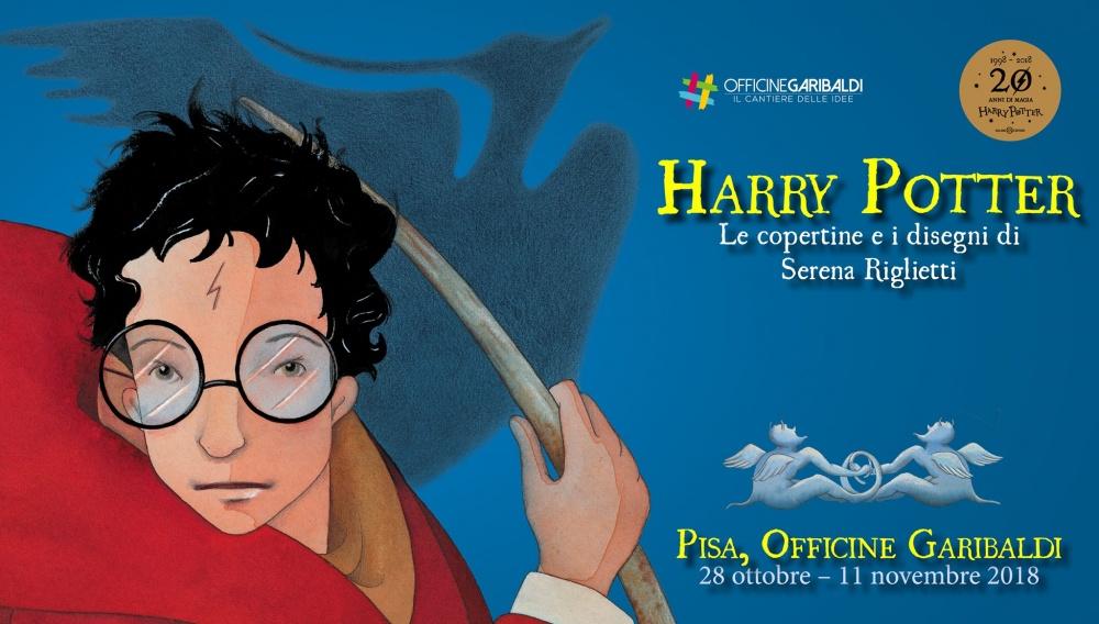 Back to Hogwarts alla mostra Harry Potter le copertine e i disegni di Serena Riglietti