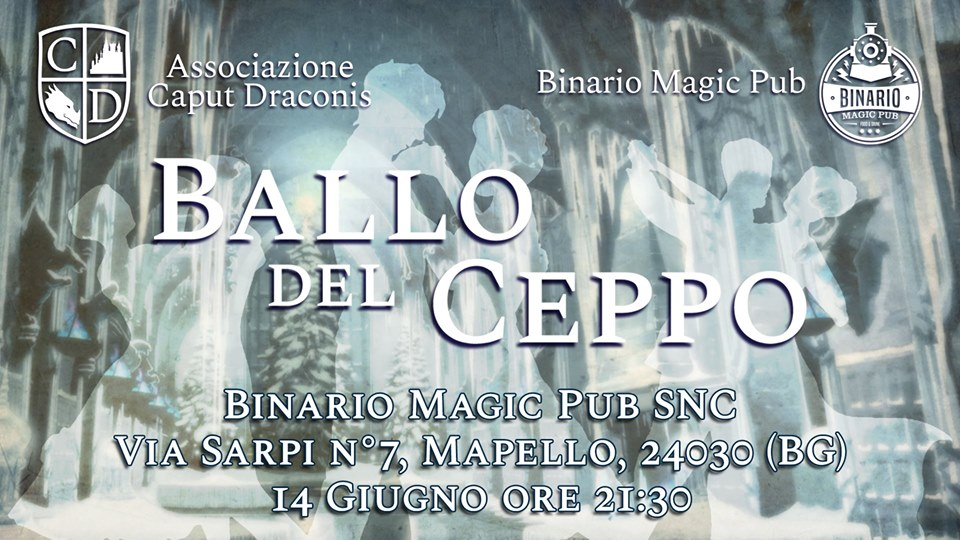 Ballo del Ceppo al Binario Magic Pub