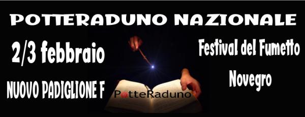 Caput Draconis sarà presente al PotteRaduno durante il Festival del Fumetto di Novegro