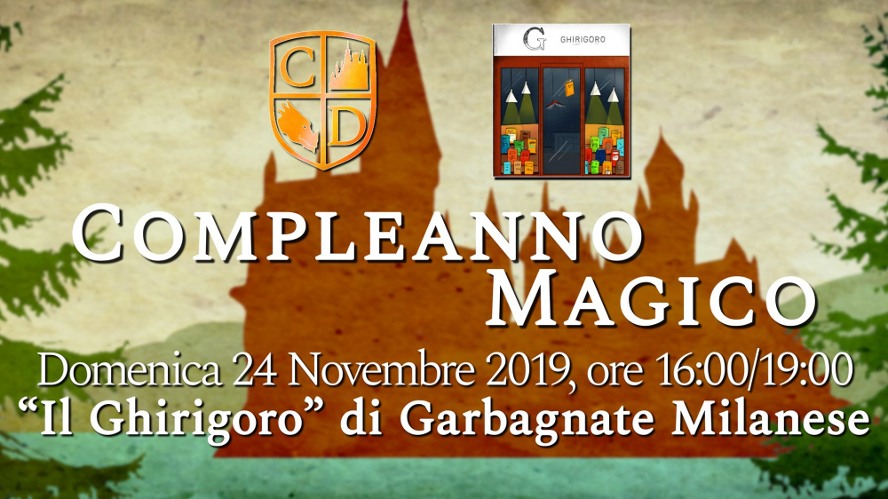 Compleanno Magico alla Libreria 'Il Ghirigoro' di Garbagnate Milanese