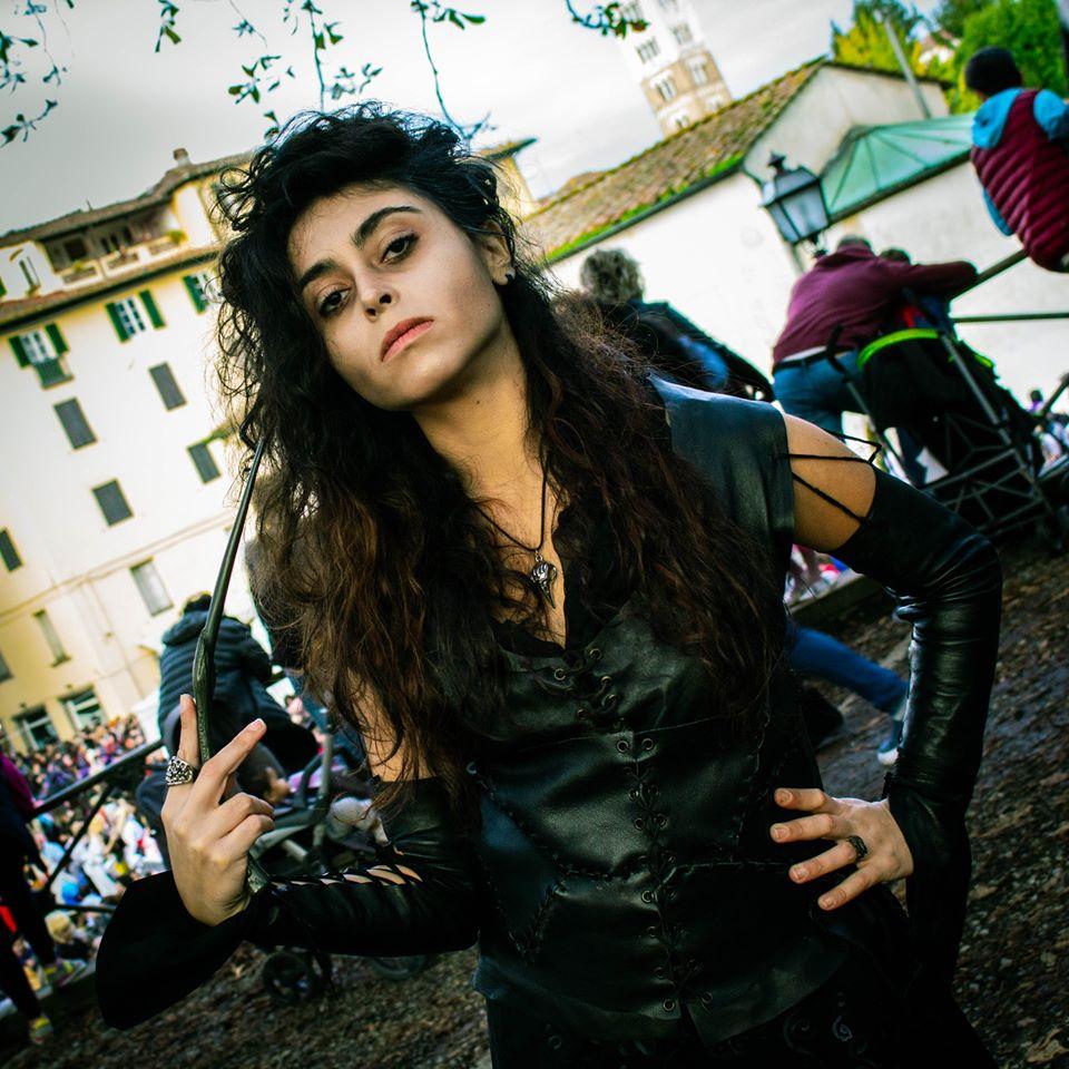 Potter Day Lucca Comics & Games 2019 - Cosplay Bellatrix Lestrange