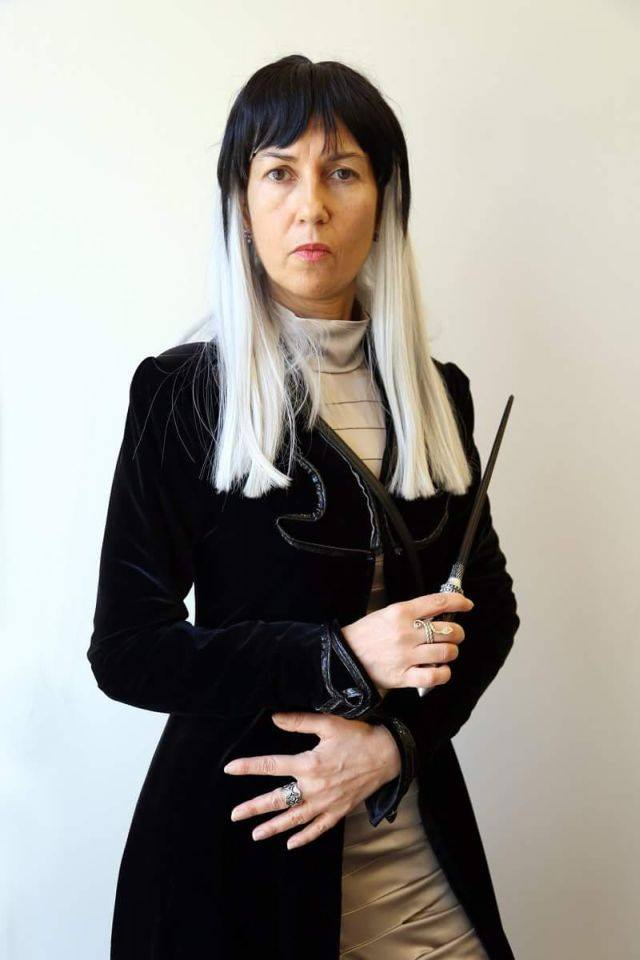 Cosplay Narcissa Malfoy - gruppo cosplay L'Ordine della Fenice