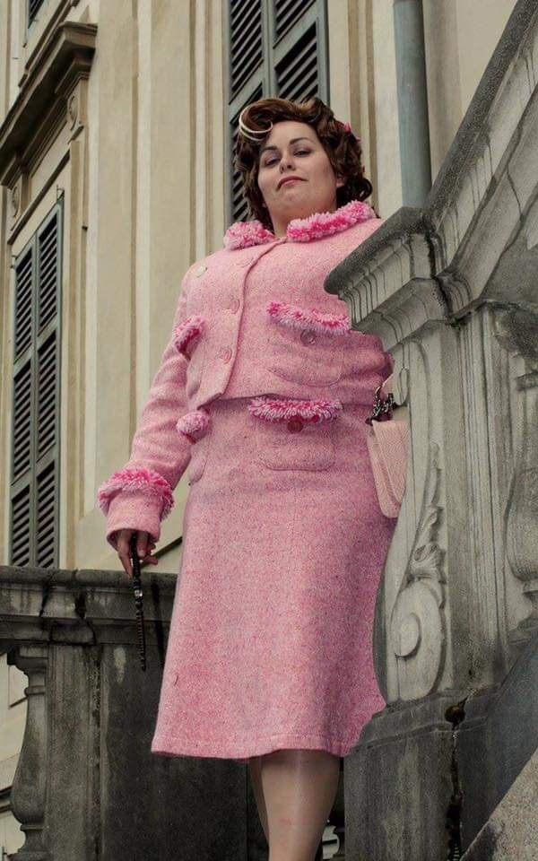 Cosplay Dolores Umbridge - gruppo cosplay L'Ordine della Fenice