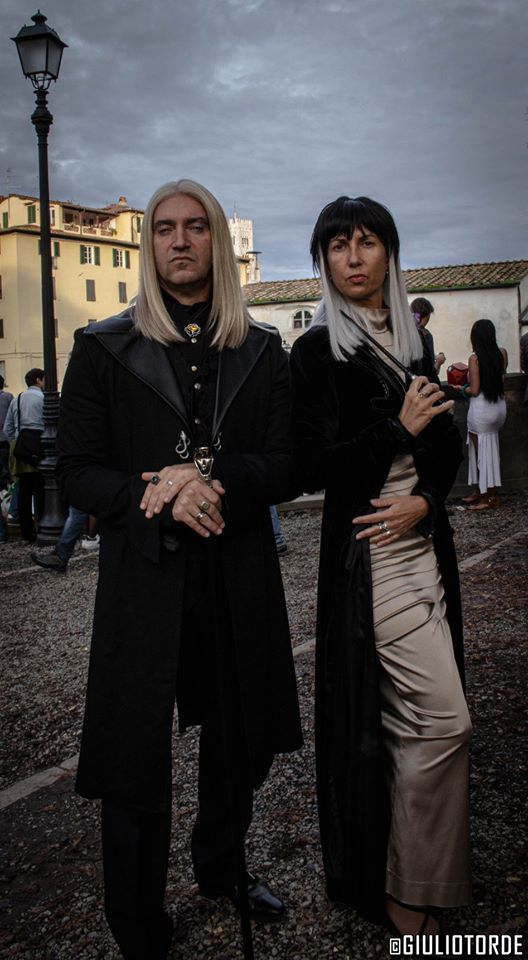 Potter Day Lucca Comics & Games 2019 - Cosplay Lucius e Narcissa Malfoy
