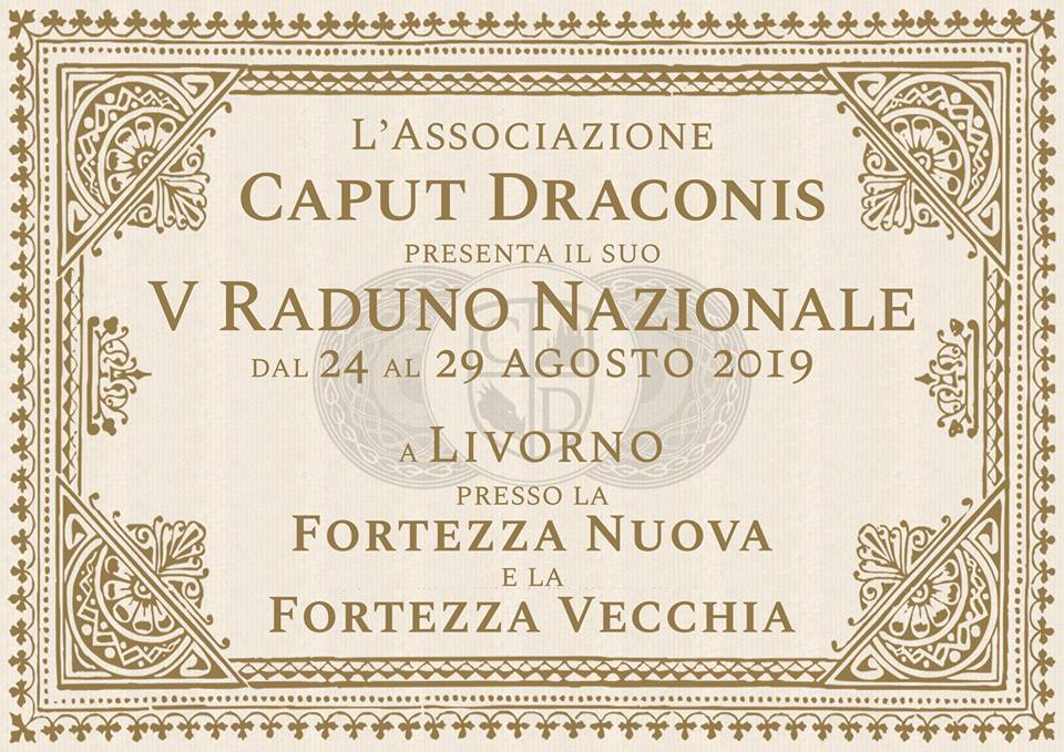 Disponibile online il Programma del Raduno Caput Draconis 2019