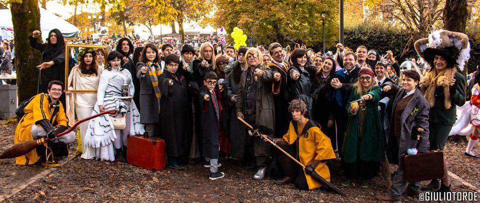 Disponibili online le foto del Potter Day a Lucca Comics & Games 2019