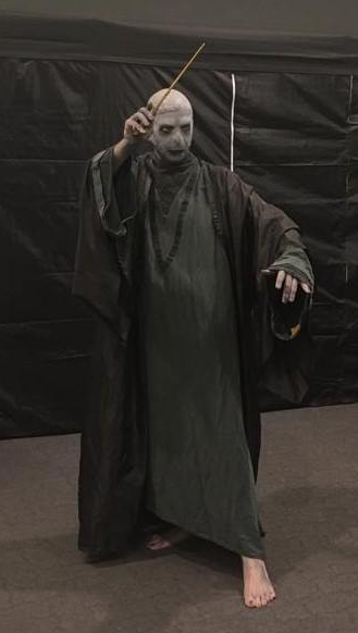 Potteraduno al Festival del Fumetto di Novegro 2019 - Cosplay Lord Voldemort
