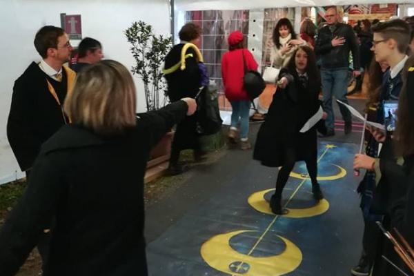 Potteraduno al Festival del Fumetto di Novegro 2019 - Club dei Duellanti