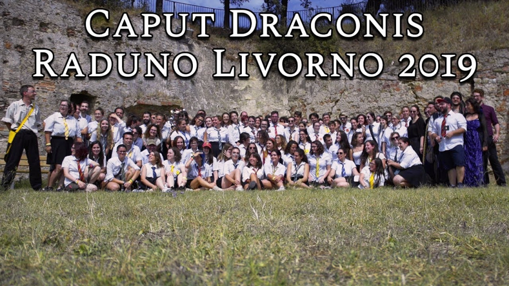 È arrivato il video del raduno Caput Draconis 2019