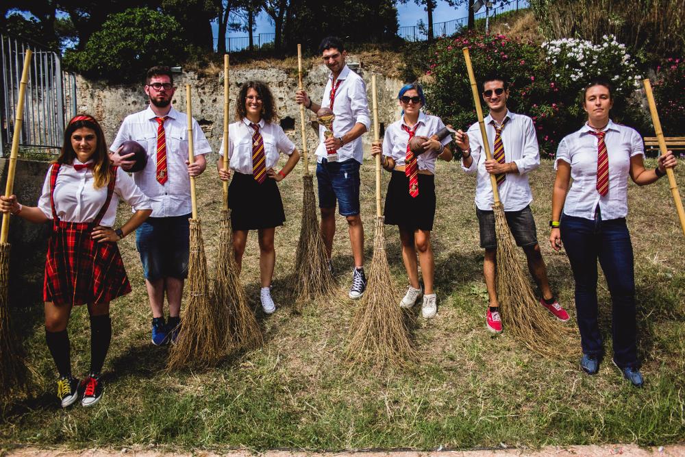 Squadra di Quidditch di Grifondoro 2019
