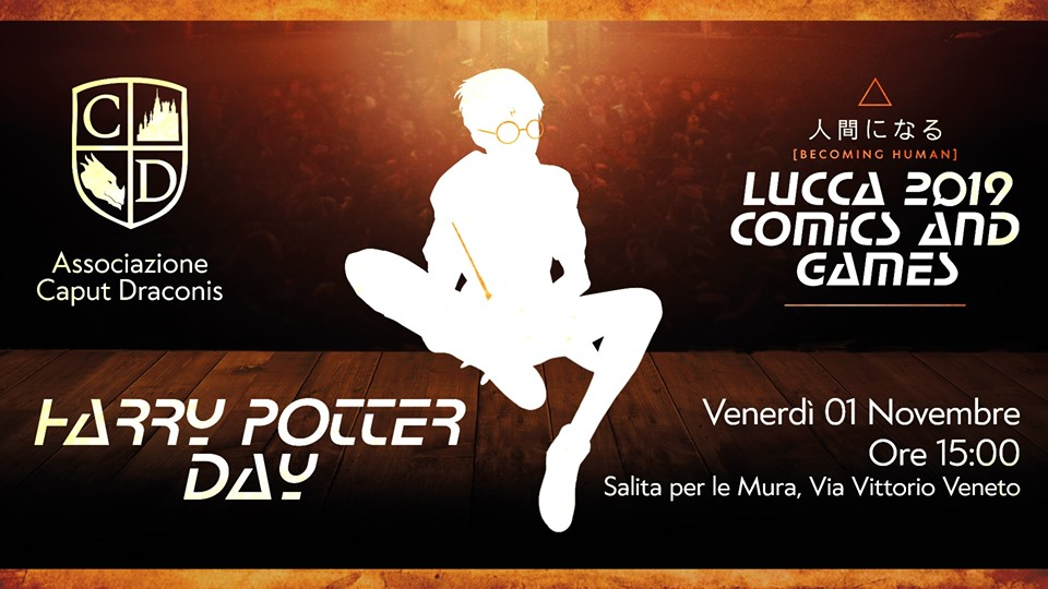 Harry Potter Day a Lucca Comics & Games 2019