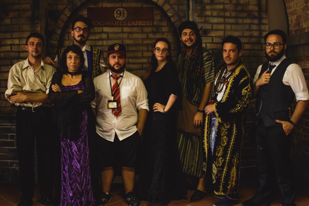 I professori dell'Accademia Caput Draconis