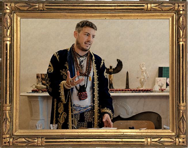 Il Professore di Rune Antiche Jacopo di Vito