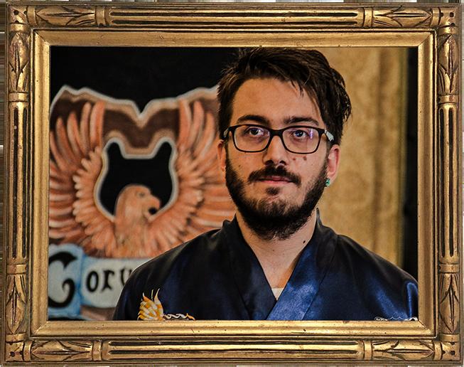 Il Professore di Divinazione Saverio Ryuzaki