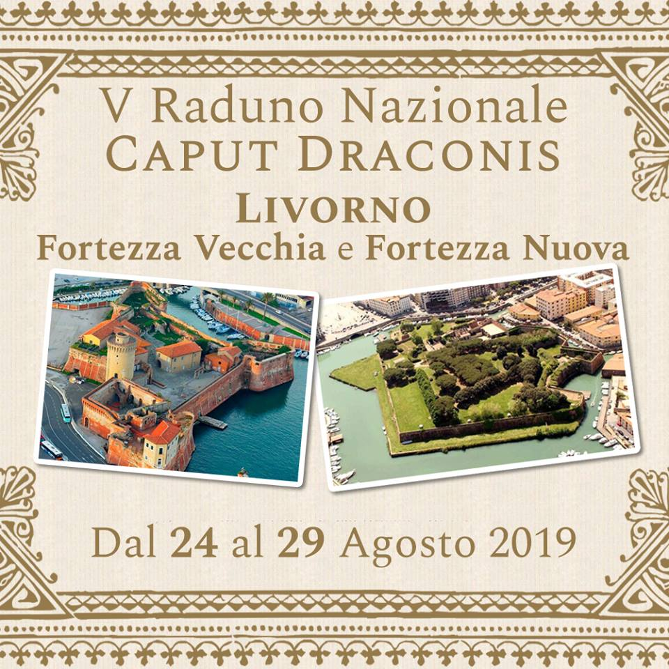 Il Raduno Caput Draconis 2019 si terrà a Livorno
