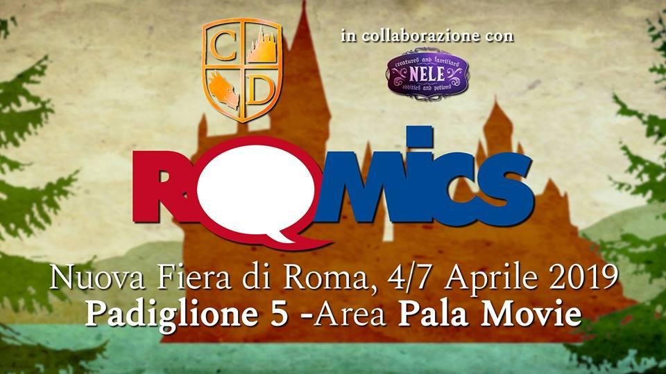 L'Associazione Caput Draconis al Romics 2019