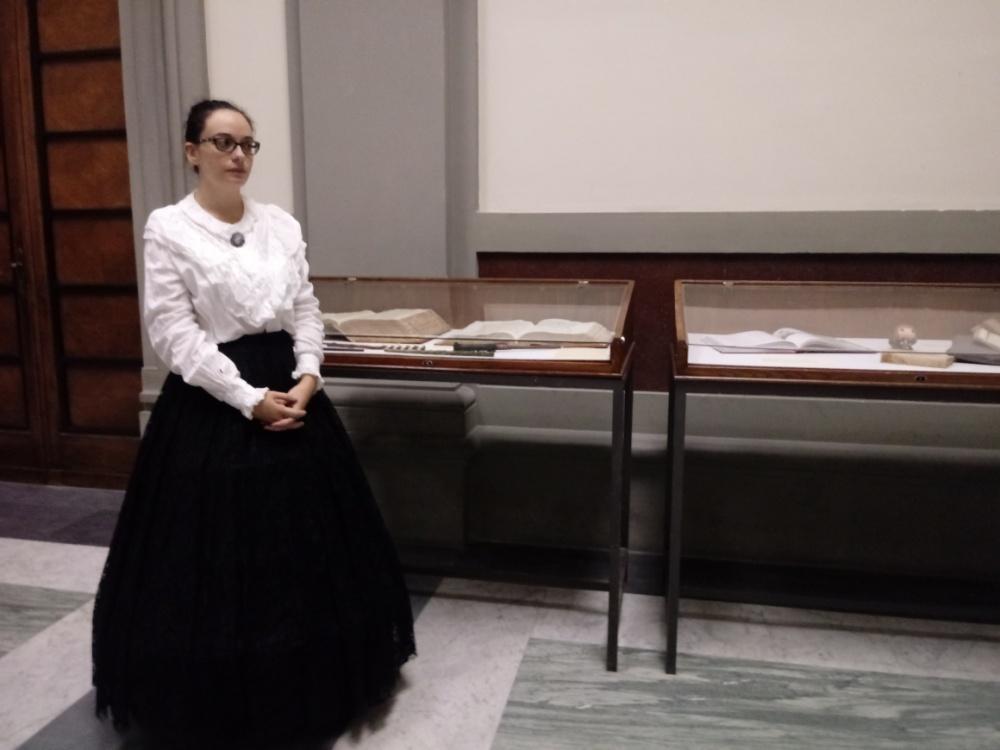 Laura Incollingo ci porta a spasso nella biblioteca di Hogwarts