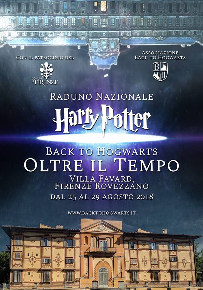 Locandina Raduno Back to Hogwarts 2018