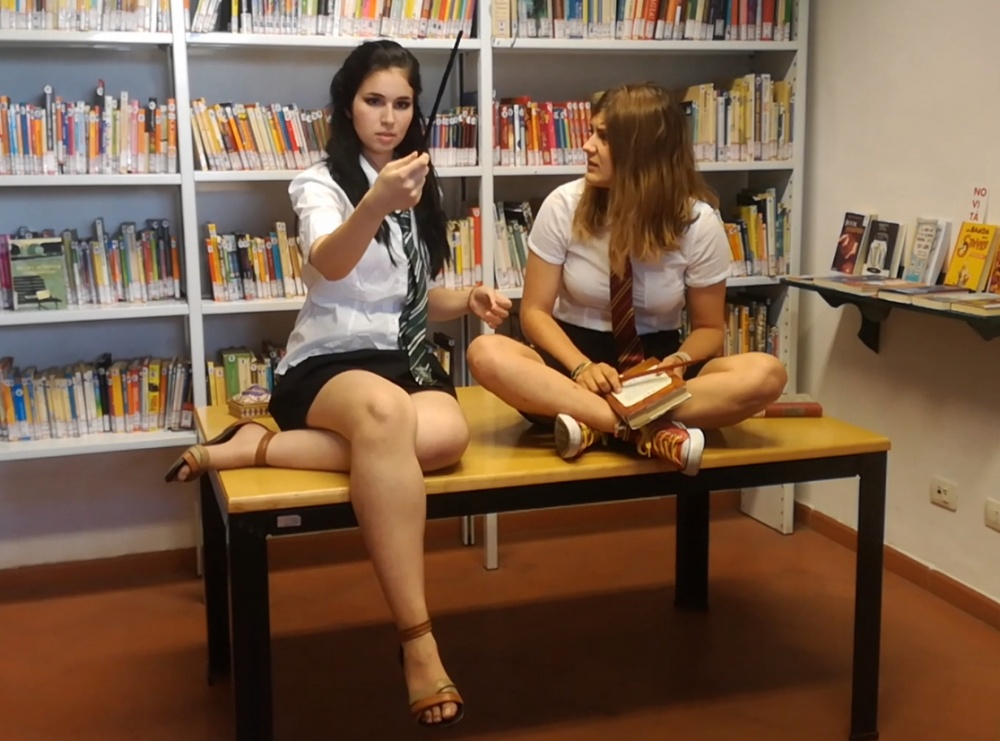 Un molliccio in Biblioteca