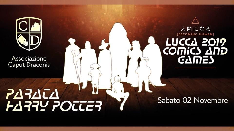 Parata ufficiale Harry Potter Lucca Comics & Games 2019