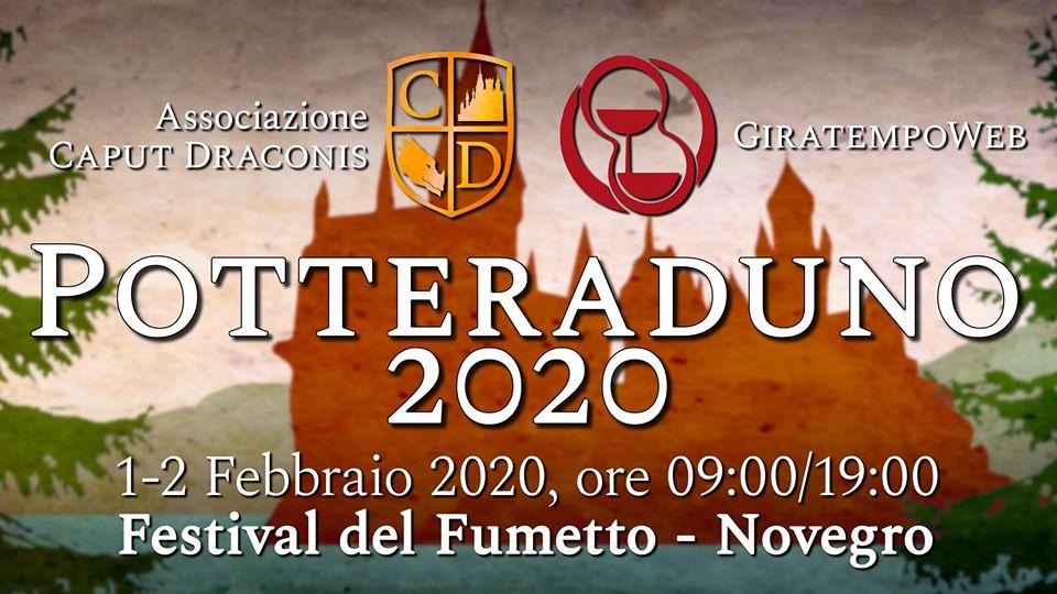 Potteraduno al Festival del Fumetto di Novegro 2020