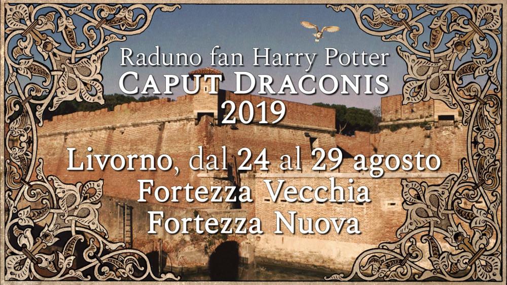 Raduno Caput Draconis 24-29 Agosto 2019 a Livorno