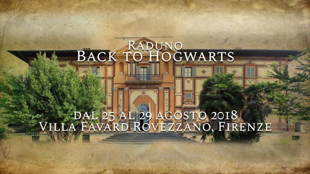 Raduno Harry Potter Back to Hogwarts dal 25 al 29 agosto 2018 a Firenze