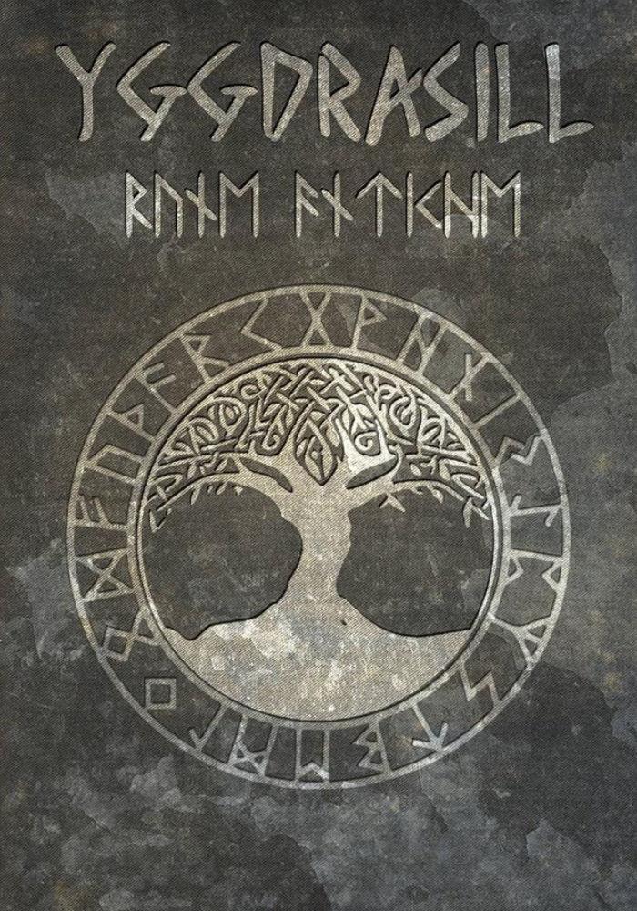 Libro di Rune Antiche Caput Draconis