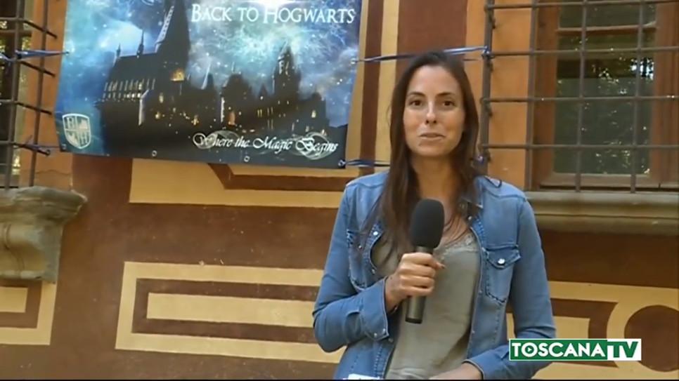 Servizio di ToscanaTV durante il Raduno Back to Hogwarts 2018